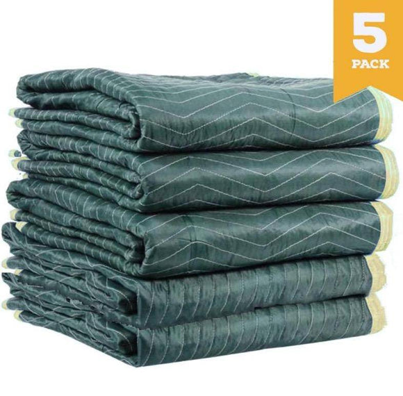 Burlap Pad Furniture Moving Blanket 1.8m x 3.0m 5 PACK Moving Blankets and Burlap Pads Packstore Australia