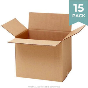 Heavy Duty Medium Moving Boxes - 15 PACK Moving Boxes Packstore Australia