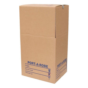 Heavy Duty Portable Wardrobe Box Moving Boxes Packstore Australia