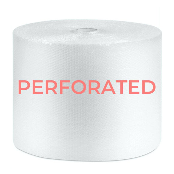 Perforated Bubble Wrap Roll - 500mm x 100m Bubble Wrap Packstore Australia
