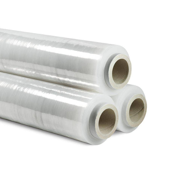 Stretch Film Pallet Wrap 500 mm x 400 m Blown - 4 PACK Stretch Wrap and Bundling Film Packstore Australia