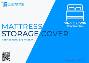 Super Heavy Duty Mattress Cover for Moving and Storage - Single/Twin Storage Bags and Covers Packstore Australia