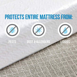 Super Heavy Duty Mattress Covers King / Queen - 2 PACK - Packstore