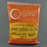 ABSOLUTE ORGANIC SWEET POTATO CHIPS 45G