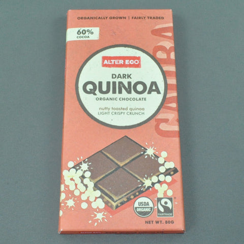 ALTER ECO DARK QUINOA ORGANIC CHOCOLATE 80g