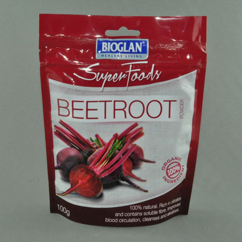 BIOGLAN SUPER FOODS BEETROOT POWDER 100G