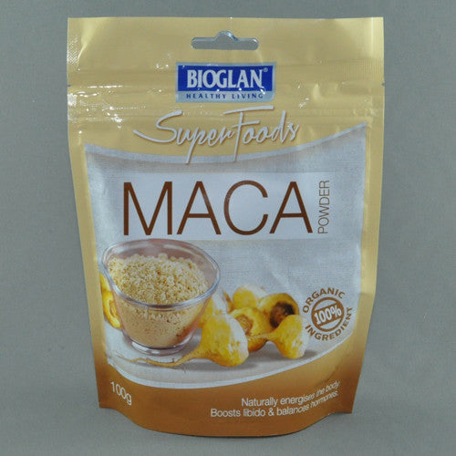 BIOGLAN SUPER FOODS ORGANIC MACA POWDER 100G