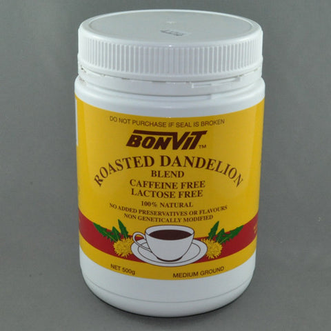 BONVIT ROASTED DANDELION BLEND MEDIUM GRIND 500G