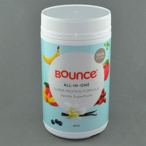 BOUNCE GREEN ENERGY SUPERFOOD FORMULA, BERRY BOOST 250G