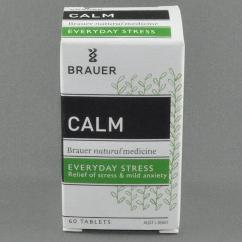 BRAUER CALM EVERYDAY STRESS TABLETS 60