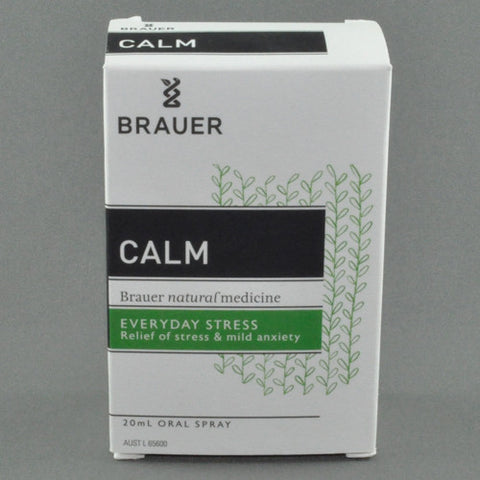 BRAUER CALM EVERYDAY STRESS ORAL SPRAY 20ML