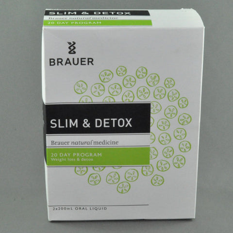 BRAUER SLIM AND DETOX KIT