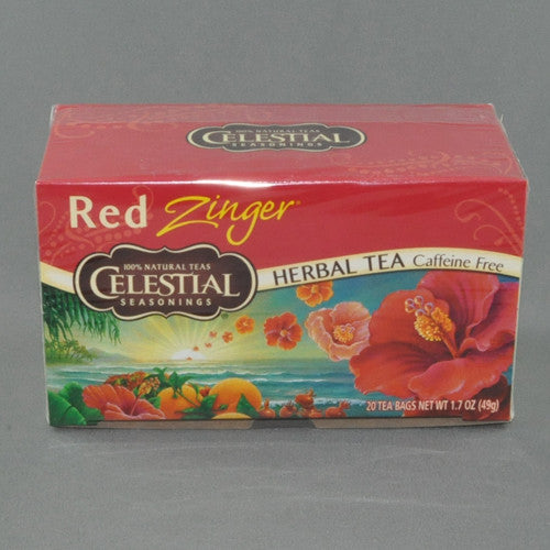 CELESTIAL RED ZINGER HERBAL TEA BAGS PK20