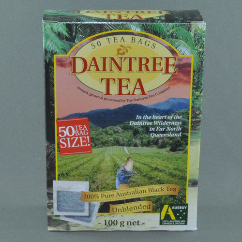 DAINTREE TEA BLACK TEA BAGS PK50