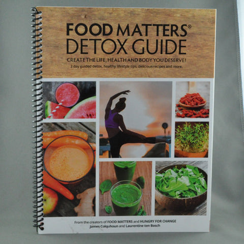 FOOD MATTERS DETOX GUIDE BOOK