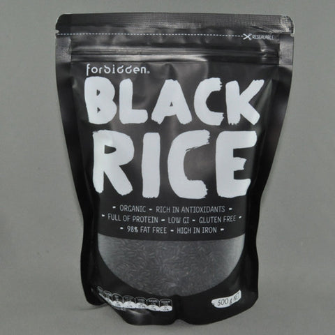 FORBIDDEN BLACK RICE 500G