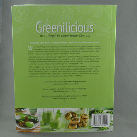 GREENILICIOUS BY AMANDA BENHAM AND LEIGH DREW