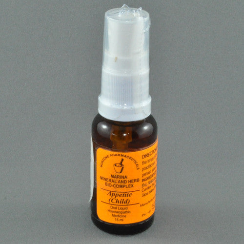 MORZONE MARINAS HOMEOPATHIC CHILDRENS APPETITE SPRAY 20ML
