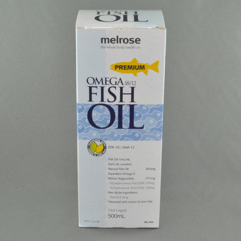 MELROSE OMEGA 18/12 PREMIUM FISH OIL