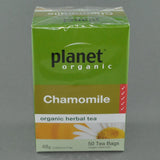 PLANET ORGANIC CHAMOMILE HERBAL TEA PK50
