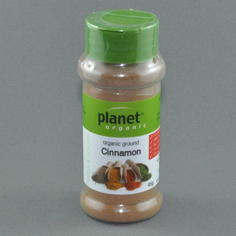 PLANET ORGANIC CINNAMON 50G