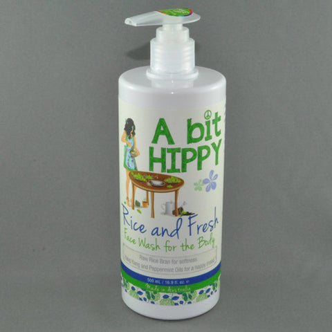 A BIT HIPPY RICE AND FRESH WASH 500ML
