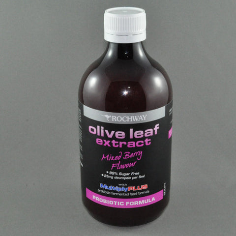ROCHWAY PROBIOTIC OLIVE LEAF EXTRACT MIXED BERRY 500ML