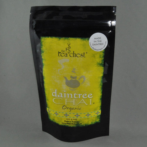 THE TEA CHEST DAINTREE CHAI ORGANIC 100G