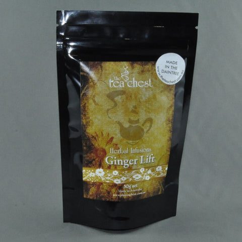 THE TEA CHEST HERBAL INFUSIONS GINGER LIFT 30G
