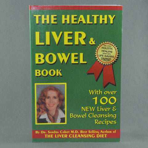 THE HEALTHY LIVER AND BOWEL BOOK BY SANDRA CABOT