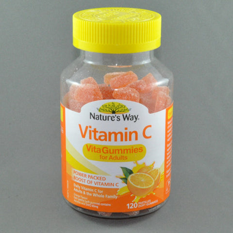 NATURES WAY VITA GUMMIES FOR ADULTS VITAMIN C 120pk
