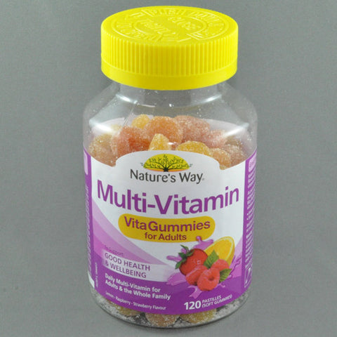 NATURES WAY VITA GUMMIES ADULT MULTIVITAMIN 120pk
