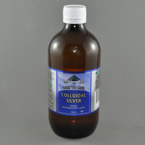 WAY TO LIFE COLLOIDAL SILVER 500ML