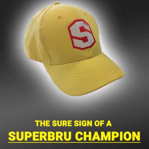 Superbru Yellow Cap