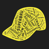 Superbru Yellow Cap T-shirt