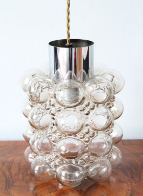 Bubble glass ceiling light