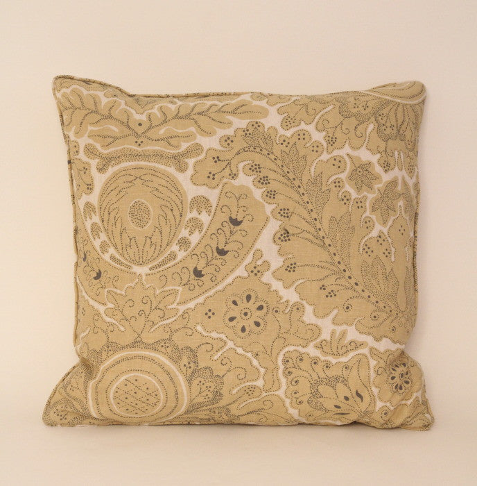 Cushion from Lewis and Wood's Etienne in yellow