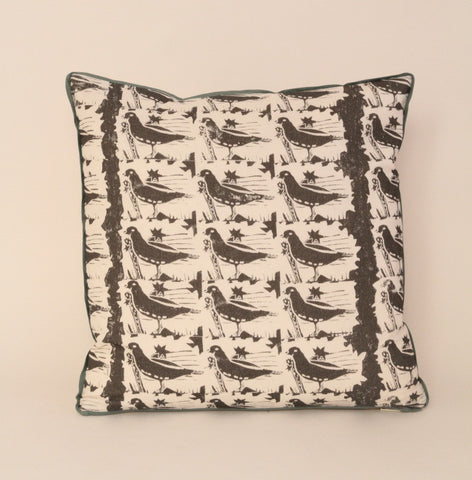 Cushion from Nicholas Herbert's grouse material