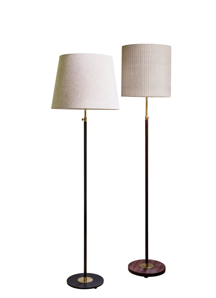 Two new, adjustable  standard lamps by Where Did You Get That Light