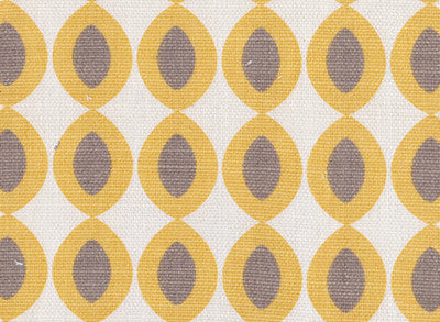 Large Ovals in Yellow