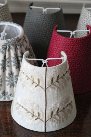 Handmade Candle shades available in all our patterns