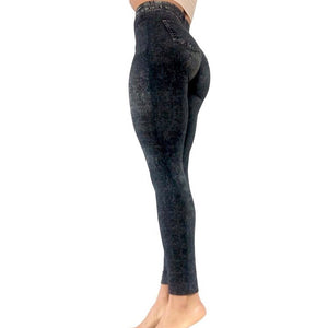 Brazilian Butt Express (BBE) Pants - Dark Wash
