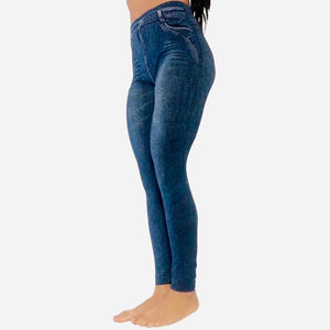 Brazilian Butt Express (BBE) Pants - Medium Wash