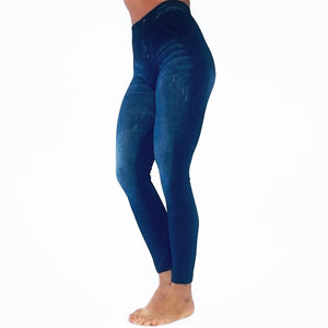 Brazilian Butt Express (BBE) Pants - Blue Wash
