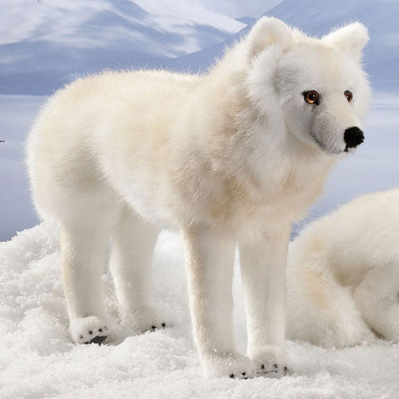 Arctic Wolf By Kosen 43cm The Bear Garden