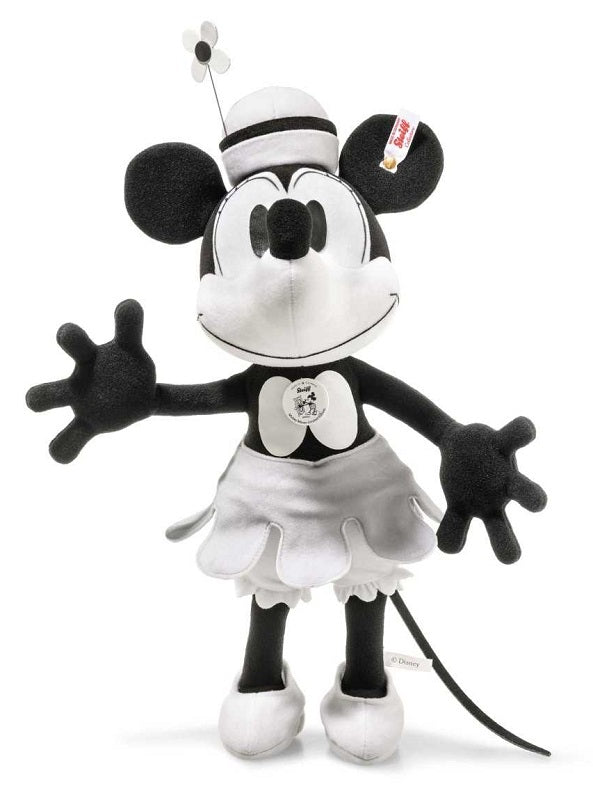 1a6bed39d62 Steamboat Willie Minnie Mouse 90th Anniversary by Steiff - 38cm ...