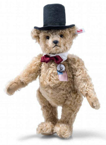 cdf2cee9b95 Abraham Lincoln Teddy Bear by Steiff - 32cm