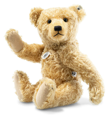 Bears Brave Antique Golden Mohair Jointed Teddy Bear