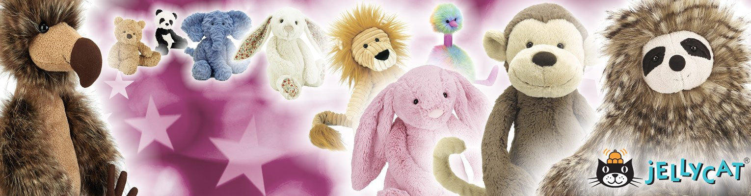 The wonderful world of Jellycat