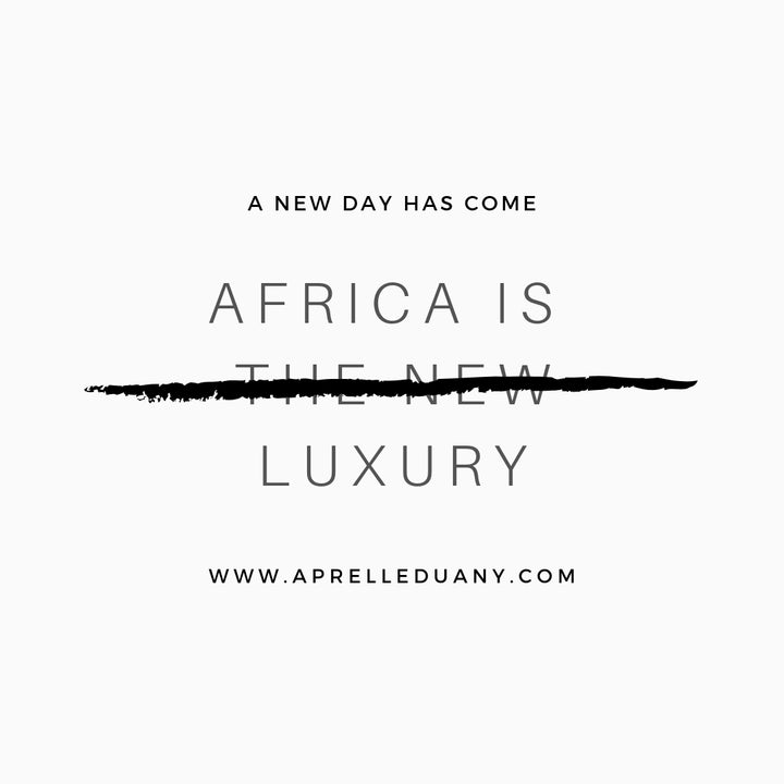 Old Africa is Luxury